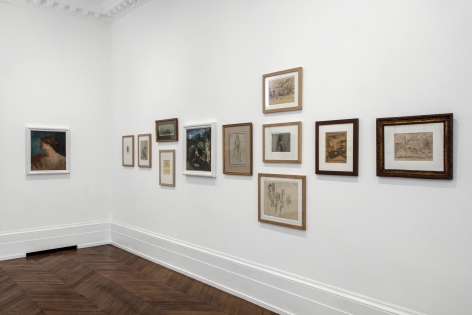 PIERRE PUVIS DE CHAVANNES, Works on Paper and Paintings, London, 2018, Installation Image 4