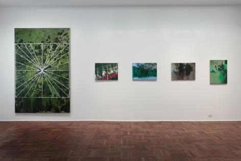 Hurvin Anderson, Subtitles, New York, 2011, Installation Image 5