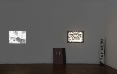 MARCEL BROODTHAERS Écriture 28 January through 26 March 2016 UPPER EAST SIDE, NEW YORK, Installation View 17