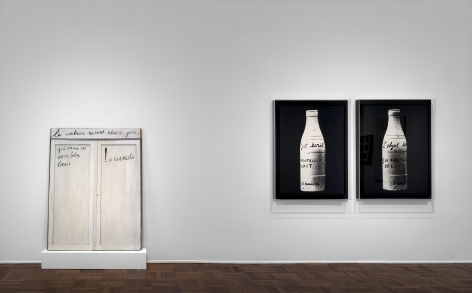 MARCEL BROODTHAERS Écriture 28 January through 26 March 2016 UPPER EAST SIDE, NEW YORK, Installation View 8
