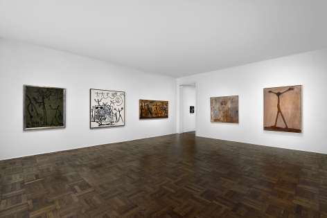 A.R. PENCK Early Works 9 June through 2 September 2016 UPPER EAST SIDE, NEW YORK, Installation View 8