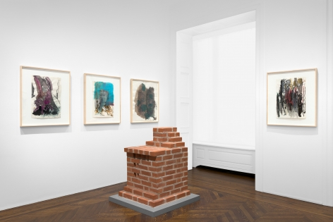 PER KIRKEBY Works on Paper, Works in Brick 20 November 2019 through 25 January 2020 UPPER EAST SIDE, NEW YORK, Installation View 15