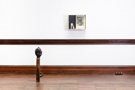 Enrico David, London, 2017, Installation Image 15