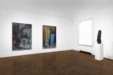 PER KIRKEBY, Paintings and Bronzes from the 1980s, New York, 2018, Installation Image 3