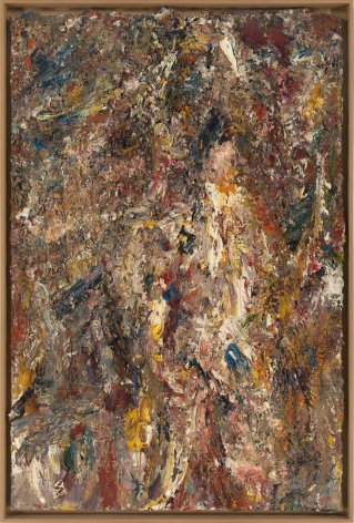 """Eugène Leroy, """"Début d'hiver (Early Winter)"""", 1996"""