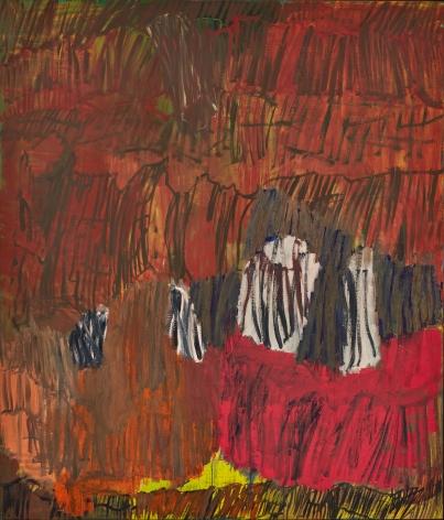 """Per Kirkeby, """"Herbst-Anastasia VII (Autumn-Anastasia VII)"""", 1997"""