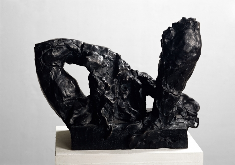 """Per Kirkeby """"Modell zwei Arme I (Model Two Arms I)"""", 1981"""