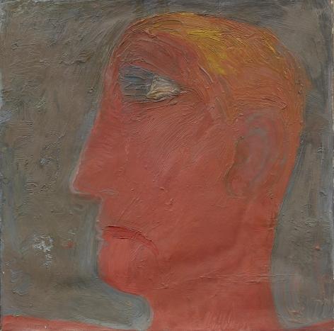 """""""Portrait"""", 1964 Oil on canvas"""
