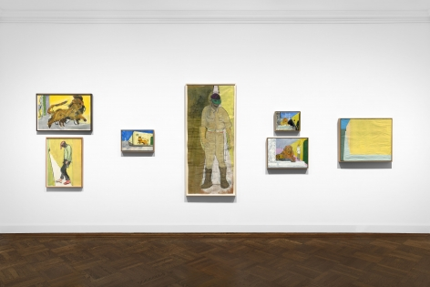 Peter Doig, New York, 2017, Installation Image 15