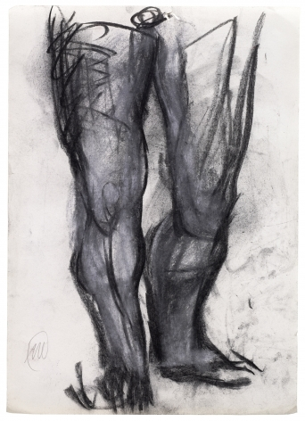 """Markus Lüpertz """"Untitled (Hercules)"""", 2010"""