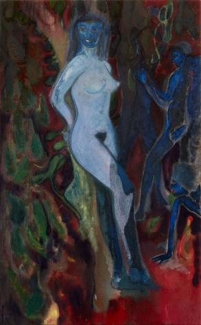 """""""Blue nude"""", 2015"""