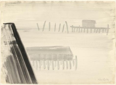 "Milton Avery, ""Misty morning"", 1959"