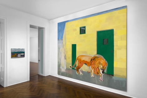 Peter Doig, New York, 2015, Installation Image 12