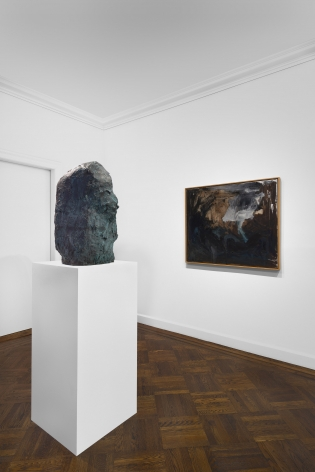 PER KIRKEBY, Paintings and Bronzes from the 1980s, New York, 2018, Installation Image 19