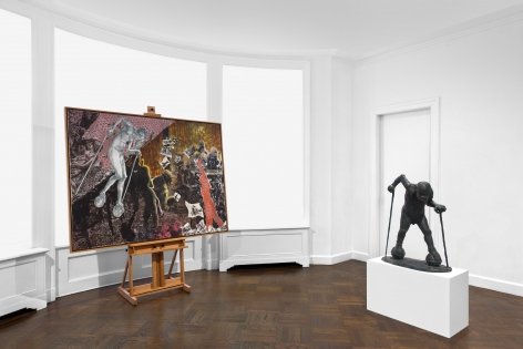 JÖRG IMMENDORFF Questions from a Painter Who Reads 21 February through 13 April 2019 UPPER EAST SIDE, NEW YORK, Installation View 14