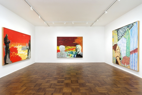 PETER DOIG Early Works 6 November 2013 through 3 January 2014 UPPER EAST SIDE, NEW YORK, Installation View 4