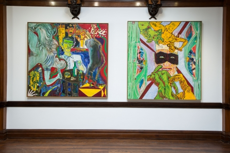 Peter Doig, Early Works, London, 2014, Installation Image 13