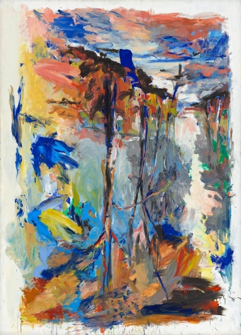 """""""Birkenallee Teichdamm (Avenue of Birch Trees Pond Dam)"""", 1974"""