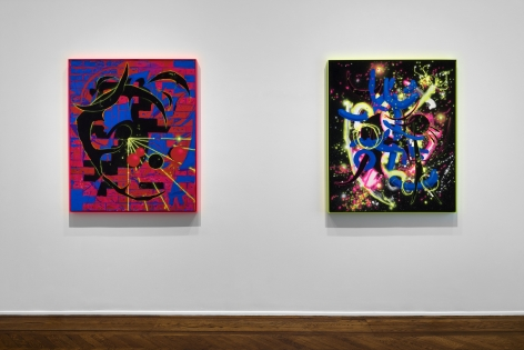 AARON CURRY Headspace 9 September through 29 October 2016 UPPER EAST SIDE, NEW YORK, Installation View 9