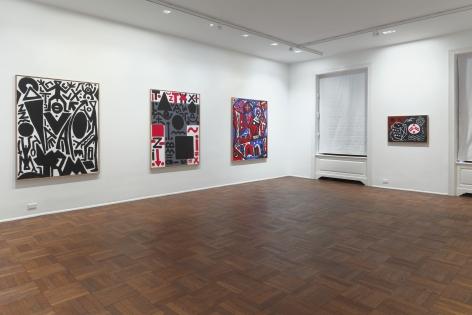 A.R. PENCK New Paintings 10 January through 9 March 2013 UPPER EAST SIDE, NEW YORK, Installation View 4