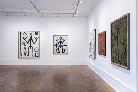 A.R. PENCK, Early Works, London, 2015, Installation Image 11