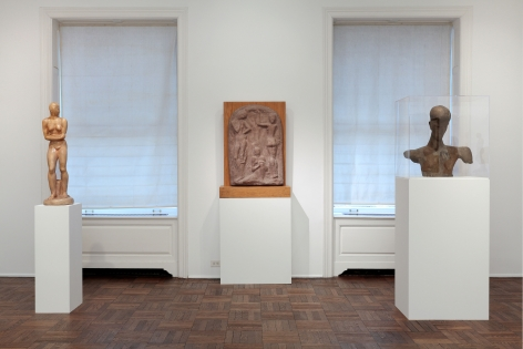 WILHELM LEHMBRUCK, Sculptures and Etchings, New York, 2012, Installation Image 7