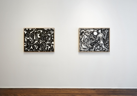 A.R. PENCK, Between Light and Shadow, New York, 2015, Installation Image 6