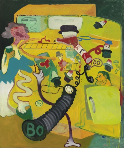 "Peter Saul ""Icebox #6"", 1963"