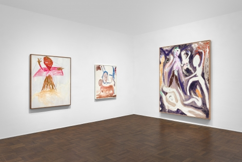 Don Van Vliet, Parapliers the Willow Dipped, Paintings 1967-1997, New York, 2020, Installation Image 2