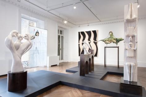 Enrico David, London, 2017, Installation Image 1
