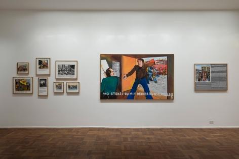 JÖRG IMMENDORFF, Maoist Paintings - The Early Seventies, 2009, Michael Werner New York Image 5
