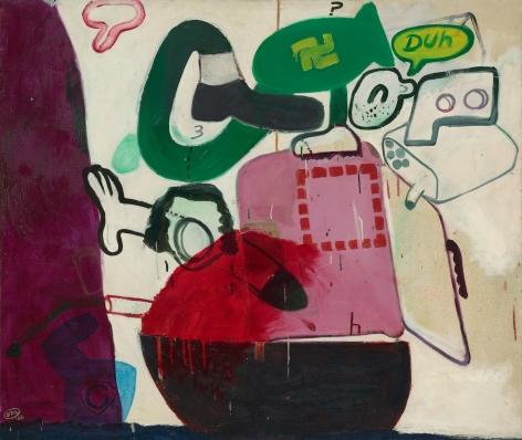 "Peter Saul ""Untitled"", 1962"