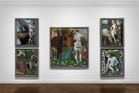 Markus Lüpertz, New Paintings, New York, 2017, Installation Image 15
