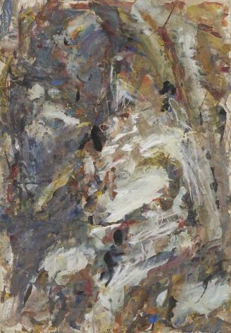 """Eugène Leroy, """"Nu"""", ca. 1980-1985"""