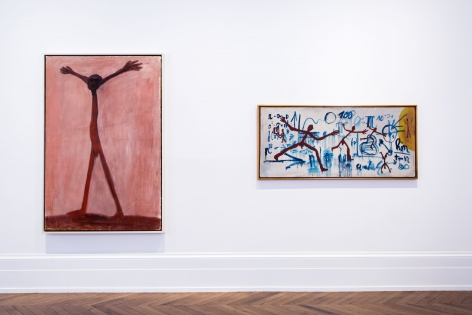 A.R. PENCK, Early Works, London, 2015, Installation Image 1