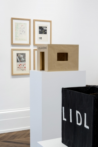 JÖRG IMMENDORFF LIDL Works and Performances from the 60s and Late Paintings after Hogarth 12 May through 2 July 2016 MAYFAIR, LONDON, Installation View 5