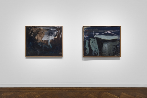 PER KIRKEBY, Paintings and Bronzes from the 1980s, New York, 2018, Installation Image 21