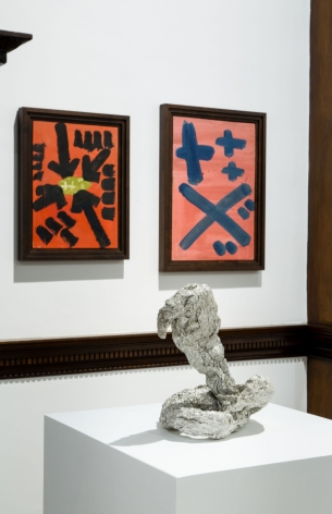 A.R. PENCK, Early Works, London, 2015, Installation Image 17