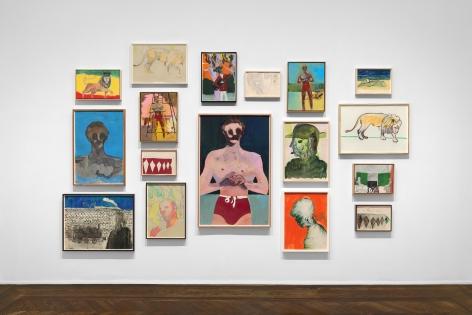 Peter Doig, New York, 2017, Installation Image 10