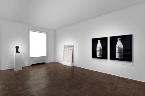 MARCEL BROODTHAERS Écriture 28 January through 26 March 2016 UPPER EAST SIDE, NEW YORK, Installation View 7