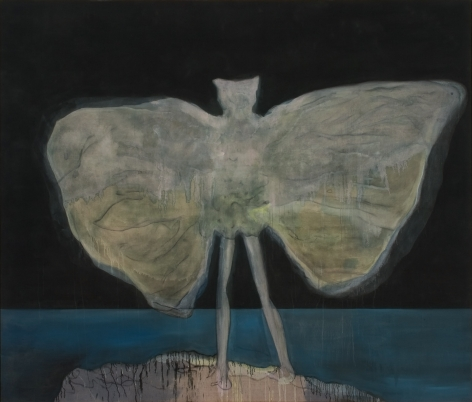 """Man Dressed as Bat (Night)"", 2008"