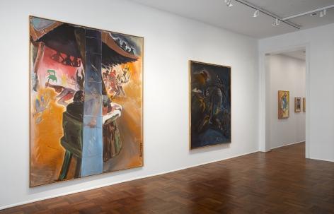 Jörg Immendorff, Café Deutschland, New York, 2014, Installation Image 4