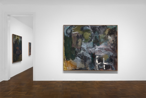 PER KIRKEBY, Paintings and Bronzes from the 1980s, New York, 2018, Installation Image 8