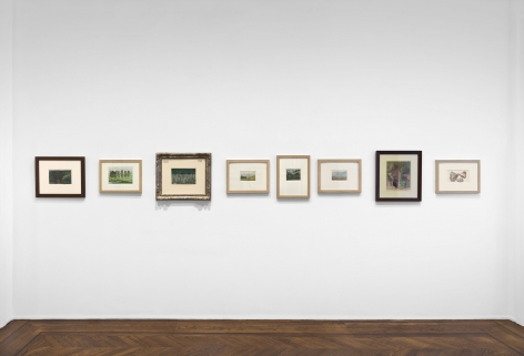 PIERRE PUVIS DE CHAVANNES, Works on Paper and Paintings, New York, 2018, Installation Image 10