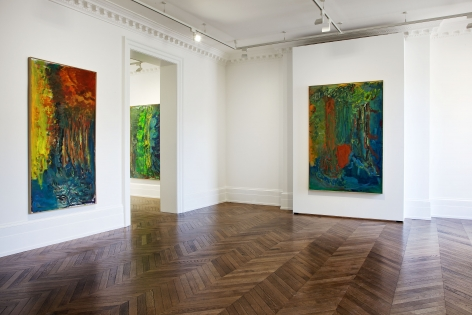 PER KIRKEBY Recent Paintings 5 June through 27 July 2013 MAYFAIR, LONDON, Installation View 3
