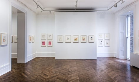 Sigmar Polke, Early Works on Paper, London, 2015, Installation Image 8