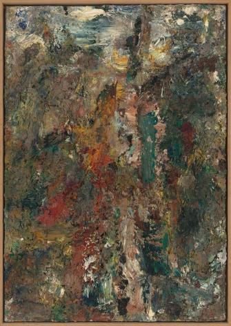 "Eugène Leroy, ""Rouge et verte (Red and Green)"", 1990"