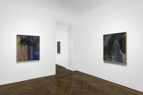 PER KIRKEBY, Paintings and Bronzes from the 1980s, New York, 2018, Installation Image 10