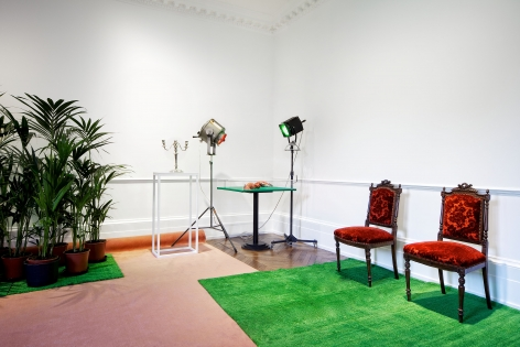MARCEL BROODTHAERS Décor: A Conquest and Bricks: 1966-1975 21 November 2013 through 18 January 2014 MAYFAIR, LONDON, Installation View 3