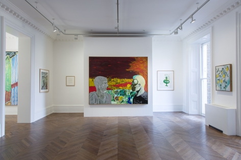 Peter Doig, Early Works, London, 2014, Installation Image 5